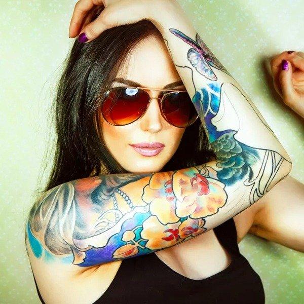 Tattoo Brightning