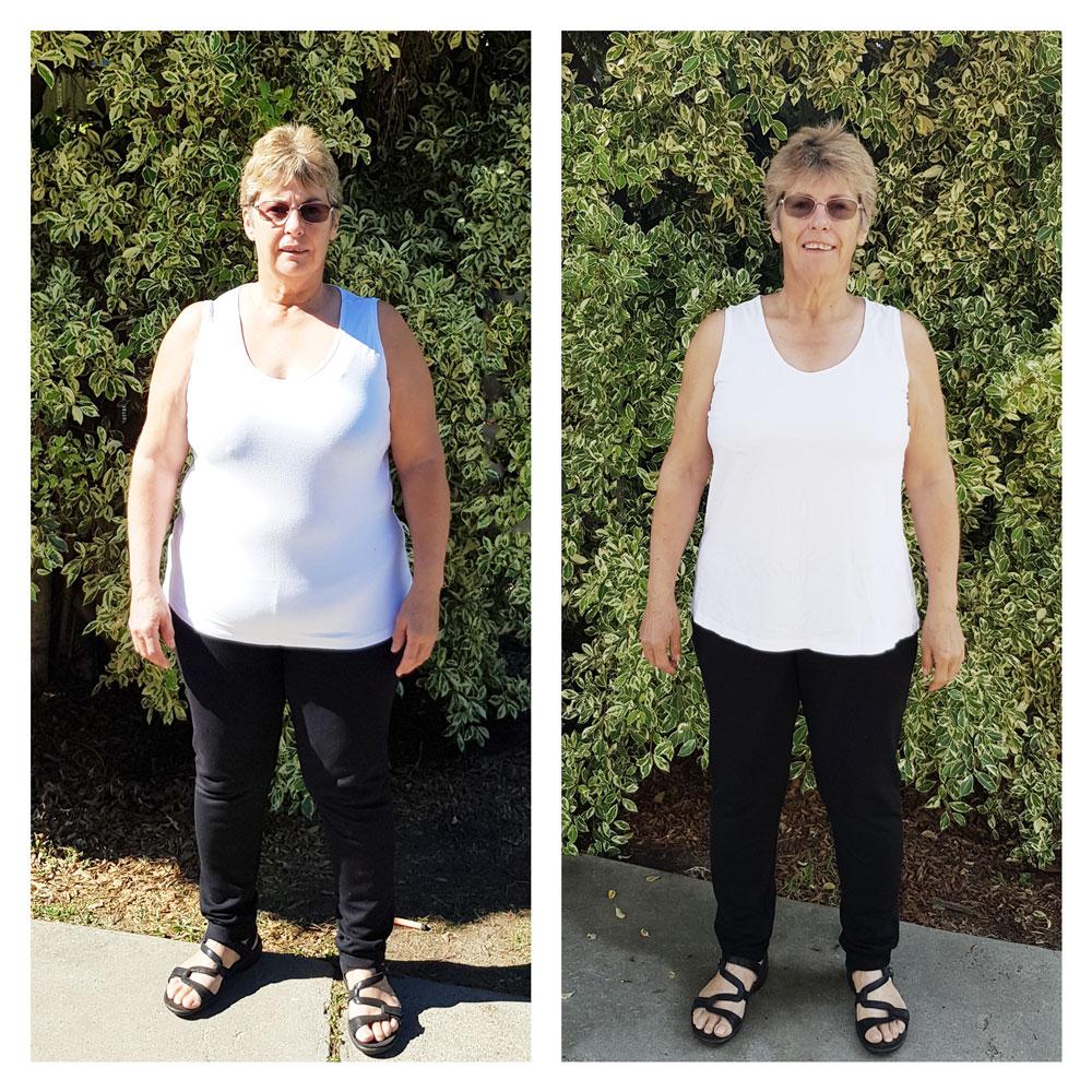 Testimonial Weight Loss Sue Pini