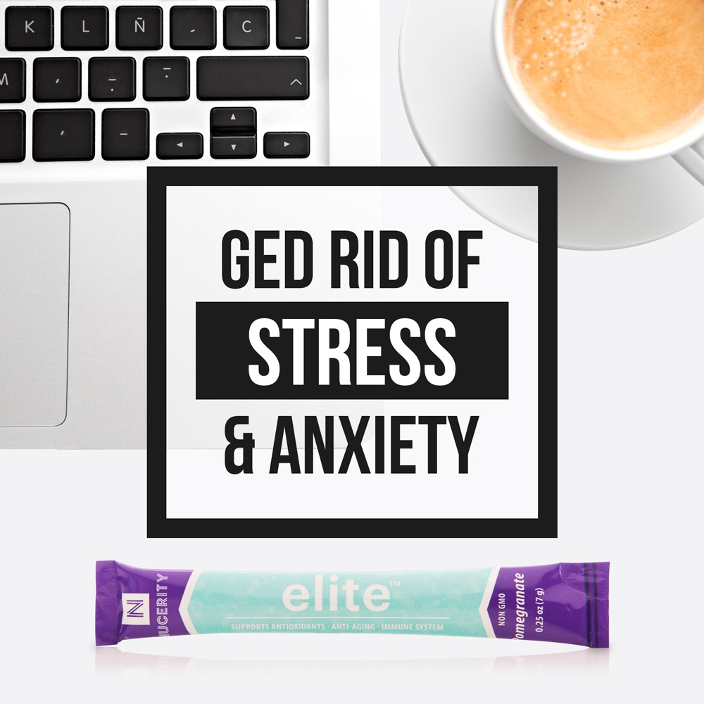 Ged Rid of Stress & Anxiety