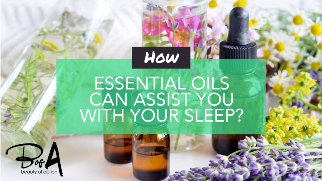 How essential oils can improve your sleep